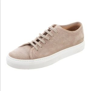 Women by Common Projects Suede Sneakers